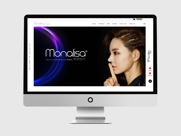 医美网站建设-莫娜丽莎